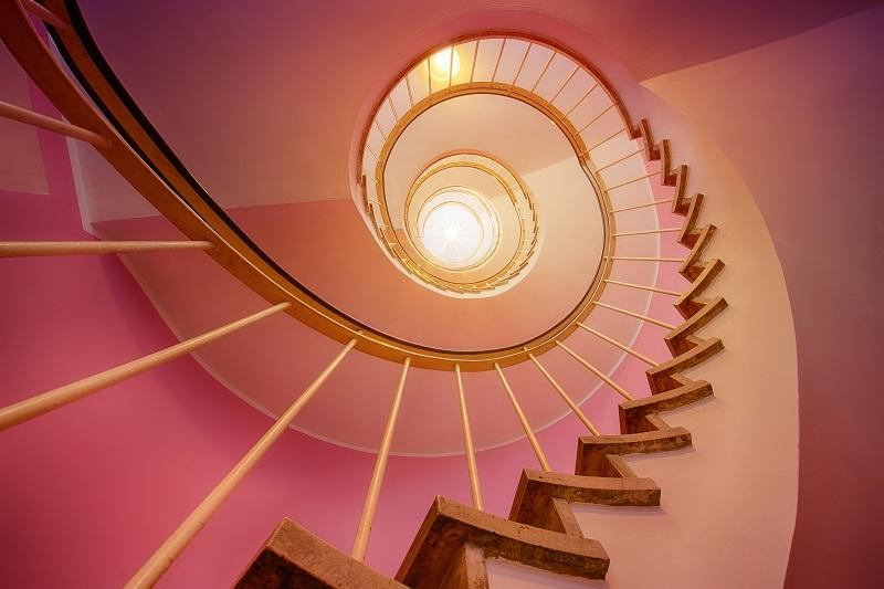peinture cage escalier immeuble